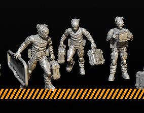 3D printable model Medic team