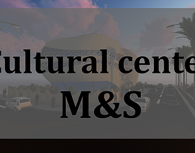 cultural center design 3D