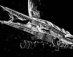 nasa Spacecraft 03 3D model