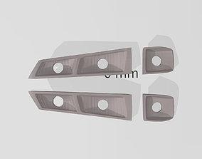 3D printable model S14 Headlightbucket DMAX for RC