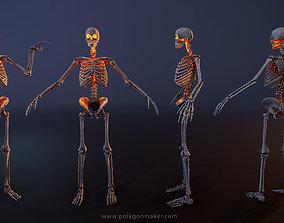 3D asset Monsters - Skeleton