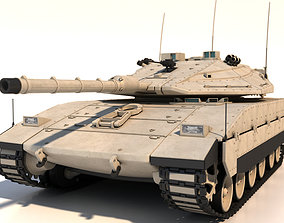 3d 3D model Merkava Mk4 Main Battle Tank