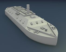 civil-war 3D printable model CSS LOUISIANA 1862