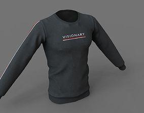Sweatshirts Lowpoly PBR 3D asset