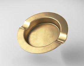 3D model Ashtray brass for cigars