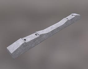 3D model Reinforced Concrete Sleeper SH1