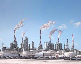 Huge Refinery 3D