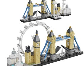 3D Lego Architecture Skyline - 21034 London