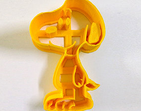 3D print model Snoopy Cookie Cutter