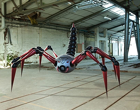Spider Scorpion Bot 3D model