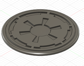 3D printable model Galactic Empire stand for figurine