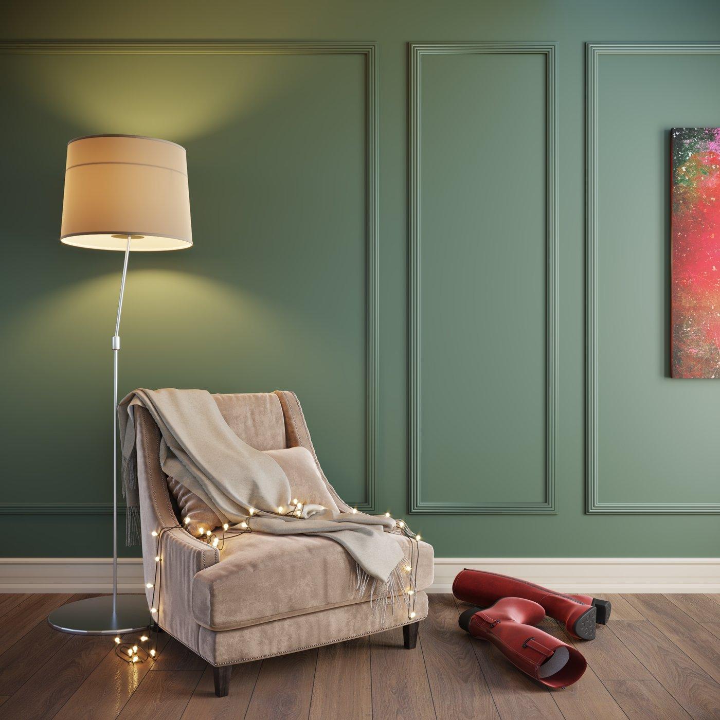 Interior paint advertisement