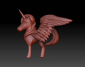pegasus 3D print model statue