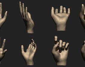 3D print model Hand Gestures Pack