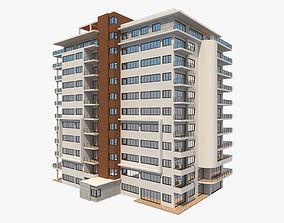 3D model Apartment Building 6