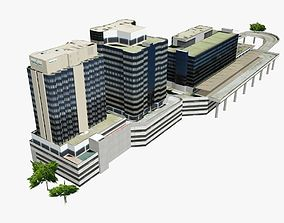 Brisbane Transit Center 3D asset