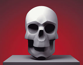 3D printable model Stylized Skull