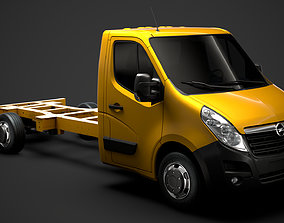 Opel Movano SingleCab SW E30 Chassis 2014 3D model