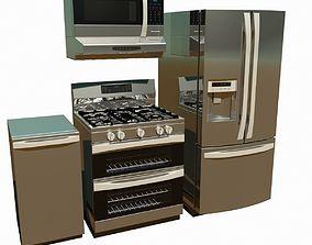 Kitchen Appliances appliance 3D model