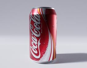 Aluminum can 3D model