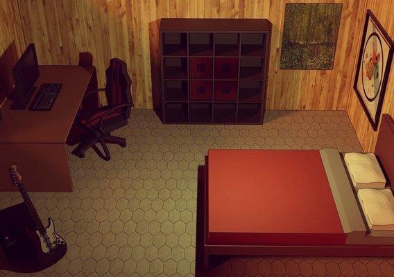 Lowpoly room