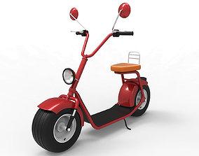 3D model Big Electric Scooter