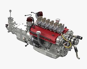 Ferrari 250TR V12 Engine - 3 liter 3D model