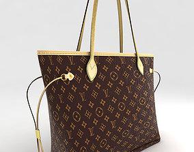 3D asset Louis Vuitton Neverfull 2012