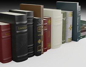 3D model Antique Books PBR