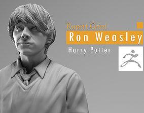 3D print model Rupert Grint - Ron Weasley - Harry Potter