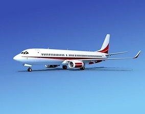 Boeing 737-800 Corporate 7 3D model