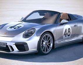 3D Porsche 911 Speedster 2019 Heritage