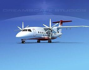 3D model Dornier 328-130 Houston Air Transport