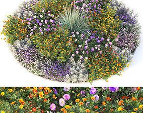 3D model Flowerbed 4