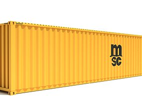 3D Shipping Container MSC