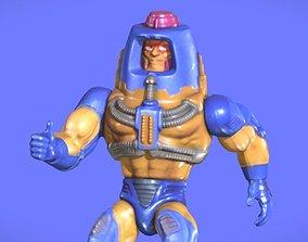 80s MOTU MAN-E-FACES FIGURE - 3D SCAN