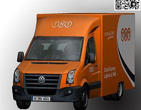 Volkswagen TNT animated 3D asset