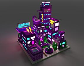 3D asset Voxel Sity 2