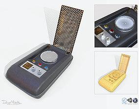 3D model Sci-Fi Communicator PBR