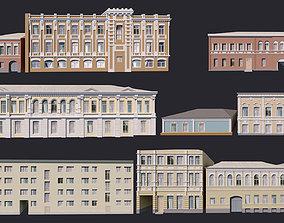 Building Facades Bundle 3D model