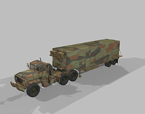 Big Foot Trailer - OBJ HP 3D model