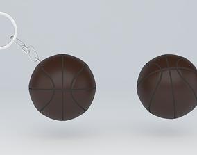 3D Printable Basketball keychain gadgets