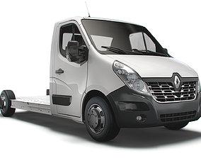 Renault Master FWD LL35 L3H1 Platform Cab 2014 3D model