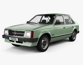 3D model Opel Kadett 5-door 1979