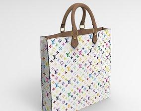 Lv Tote bag colors Lowpoly 3D asset