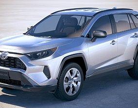3D Toyota RAV4 LE 2019
