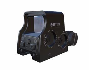 3D asset Holographic EOTech L3