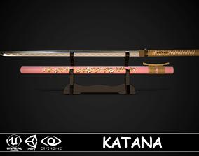 Katana 04 3D asset