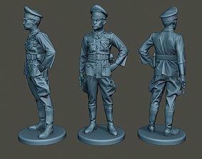German Officer ww2 Stand G5 3D print model