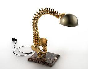 helment 3D model Spine Table Lamp